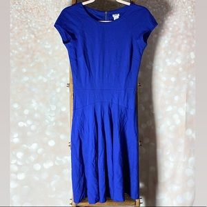 Caché Royal Blue Fitted Dress
